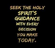 Seek the Holy Spirit