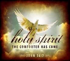 The Holy Sprit the comforter has Come!