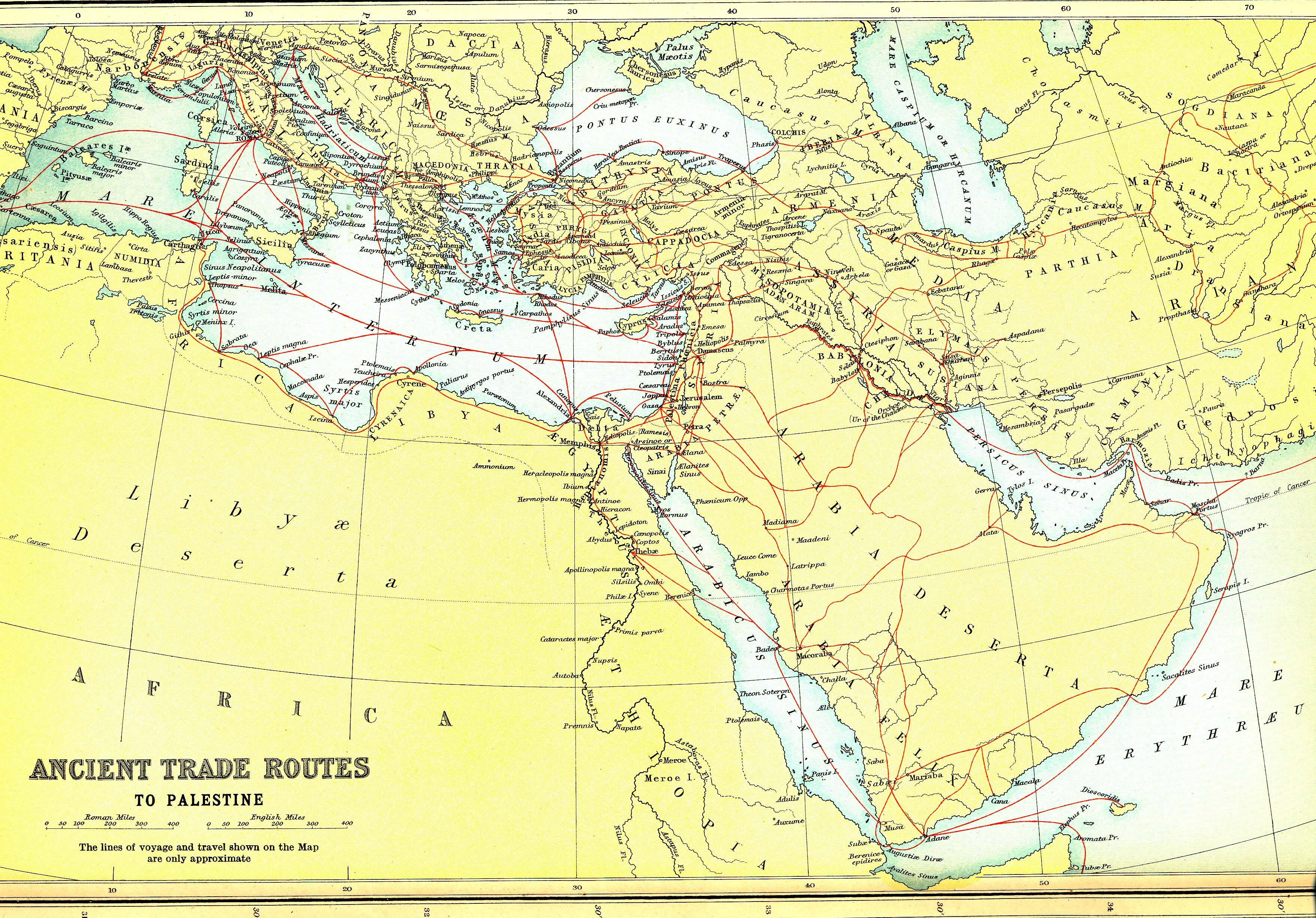 Ancient Greek Trade Routes | www.galleryhip.com - The Hippest Pics