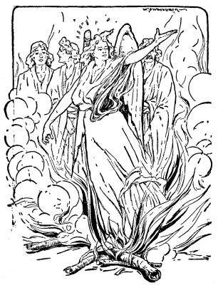 Cartoon of jacob leah and rachel from the bible coloring for Jacob and rachel coloring page