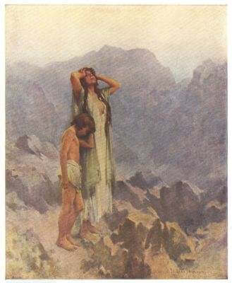 Hagar and Ishmael in the Wilderness