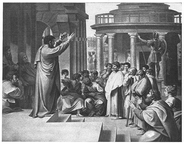 St. Paul Preaching at Athens