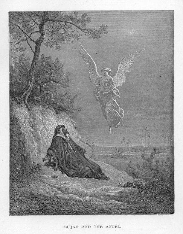 Elijah and the angel