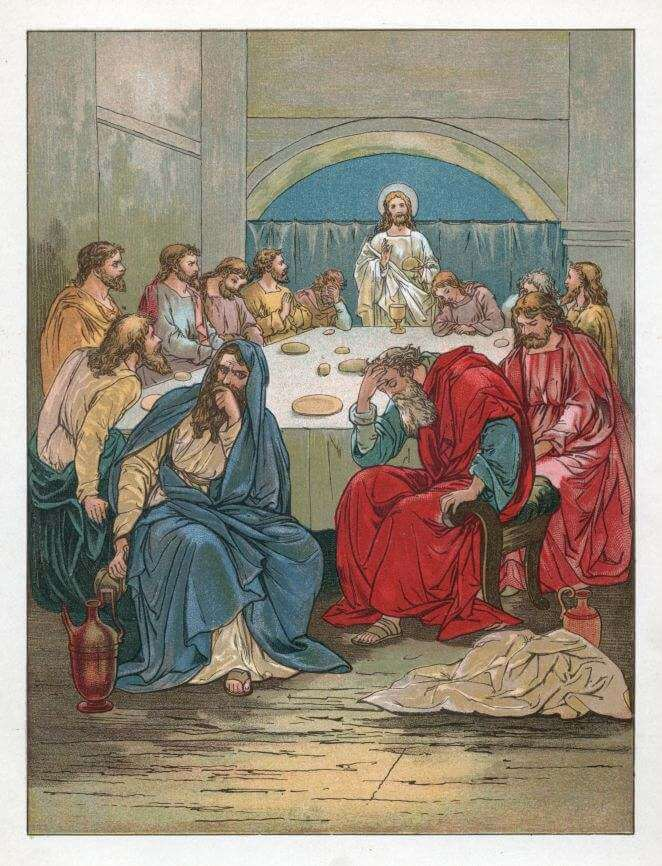 The Passover supper
